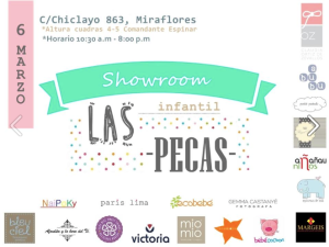 Showroom de Las Pecas