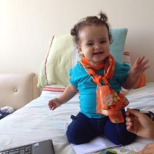 pañuelo de Carambola para bebé