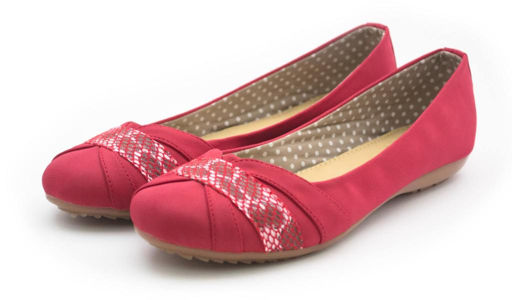 balerinas rojas