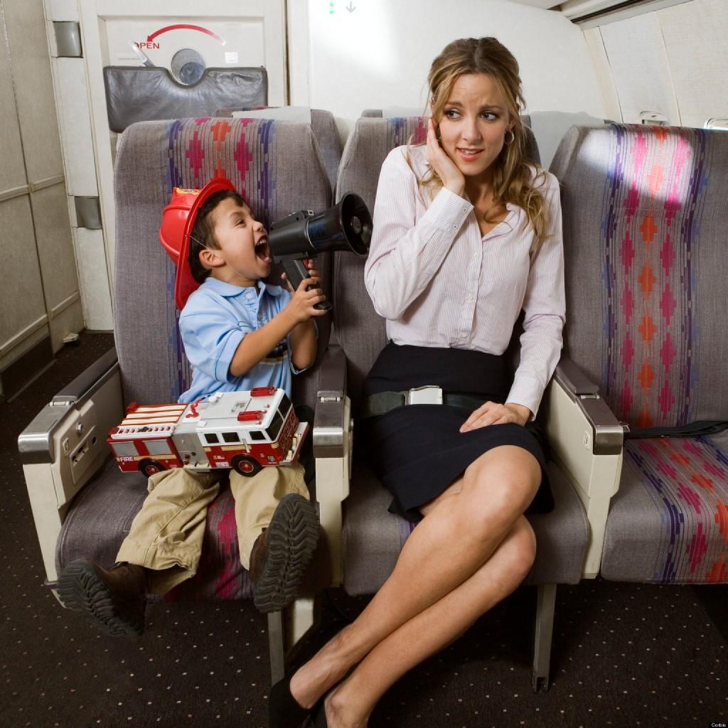 como viajar con niños